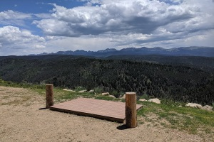 vista of Arapaho National Forest
