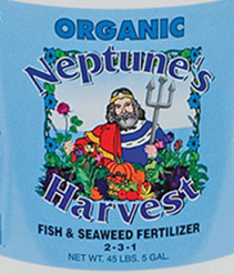 Neptune's Harvest Fish & Seaweed Fertilizer
